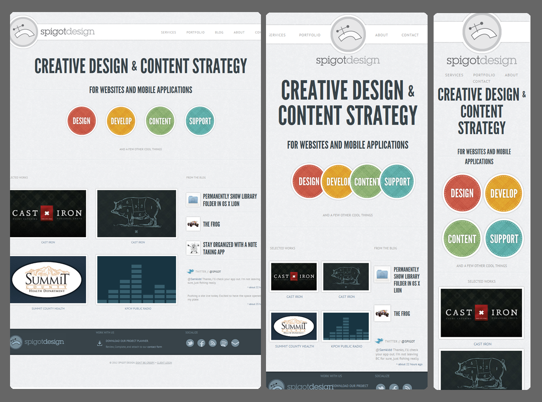 Responsive Web Design Content First
