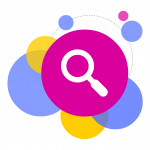 magnifying glass icon. link to Credibility Signals
