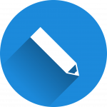 pencil icon. link to publications